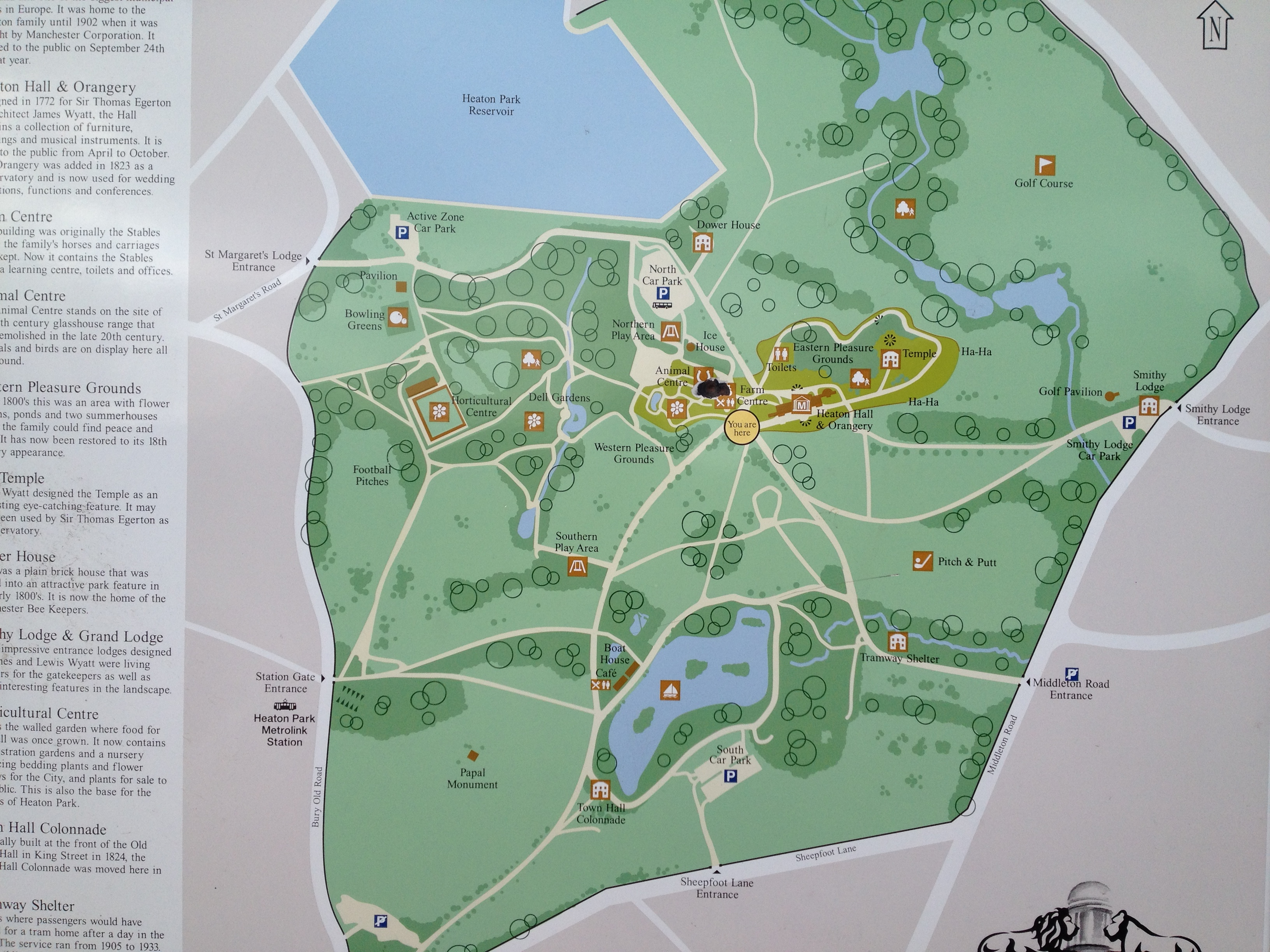 Heaton Park Map A Sunday at Heaton Park | A Place in Prestwich Heaton Park Map