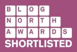 Shortlisted for Blog North Award 2014