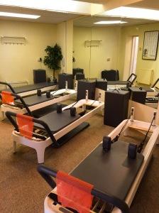 Prestwich Pilates & Yoga machines