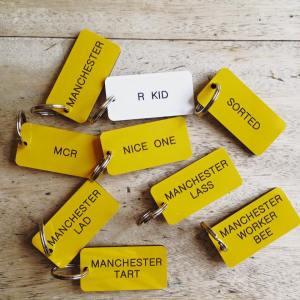 Manchester Bee Company keyrings