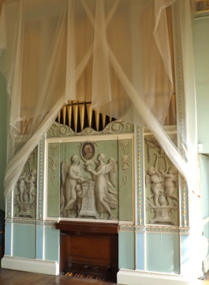 Heaton Hall music room