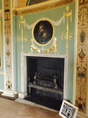 Heaton Hall fireplace