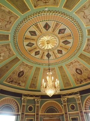 Heaton Hall ceiling