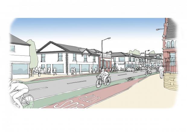 Prestwich high street plan
